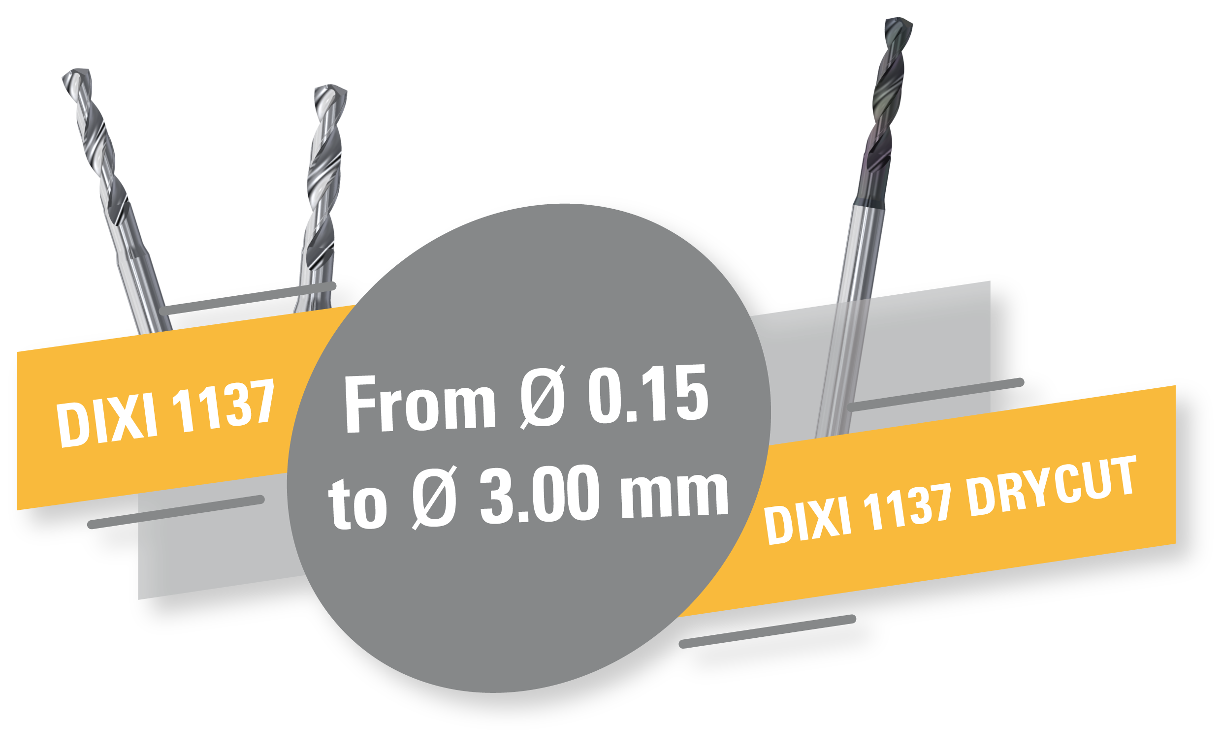 New helical drills DIXI 1137 !